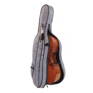 DIMAVERY Cello 4/4 with soft-bag-1