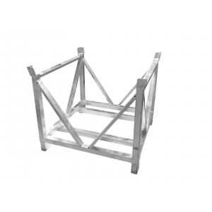 60320340-ALUTRUSS Dolly for Steel Base Plates Square 80x80