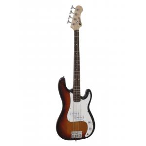26221363-DIMAVERY PB-330 E-Bass 3/4 sunburst