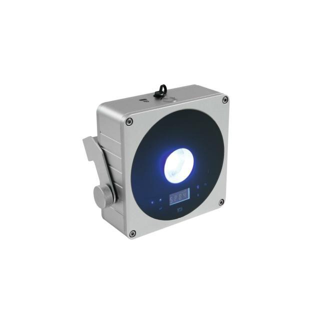 41700001-EUROLITE AKKU Flat Light 1 - LED UPLIGHT met Accu Zilver - LED Uplight-1