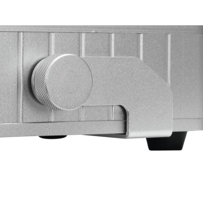 41700001-EUROLITE AKKU Flat Light 1 - LED UPLIGHT met Accu Zilver - LED Uplight-3