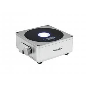 41700001-EUROLITE AKKU Flat Light 1 - LED UPLIGHT met Accu Zilver - LED Uplight