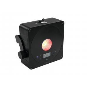 41700011-EUROLITE AKKU Flat Light 1 - LED UPLIGHT met Accu Zwart - LED Uplight-1