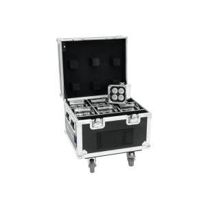 41700565-EUROLITE AKKU IP UP-4 QCL Spot WDMX Tourset - LED Uplight Set