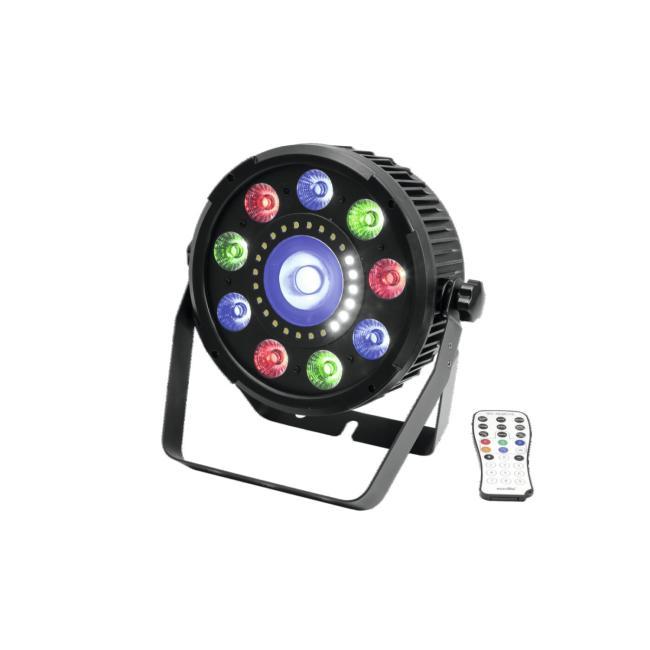 51915273-EUROLITE LED SLS-9 Hybrid HCL – LED Par – Flat Par
