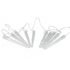 83501685-Europalms LED Icicle Garland 10 x 24cm white
