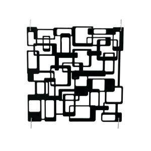 83313523-Europalms Room Divider Labyrinth zwart 4x
