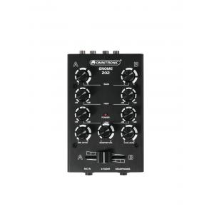 10006880-OMNITRONIC GNOME-202 Mini Mixer black