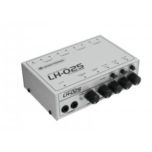 10355025-OMNITRONIC LH-025 3-Channel Stereo Mixer