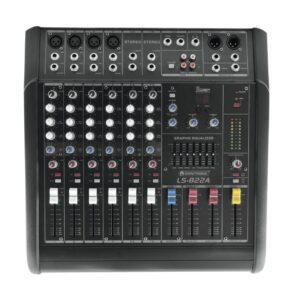 10060100-OMNITRONIC LS-822A Powered Live Mixer-1