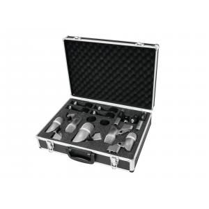 13030900-OMNITRONIC MIC 77-7LMH Drum Microphone Set