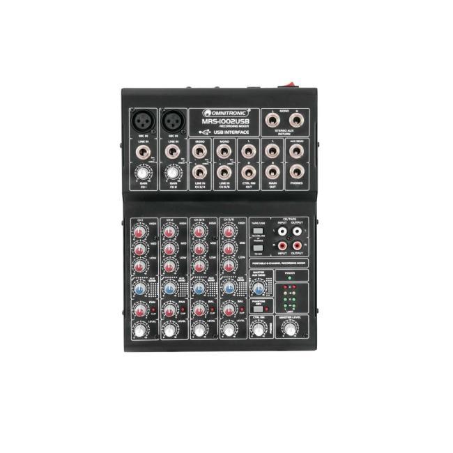 10040271-OMNITRONIC MRS-1002USB Recording Mixer