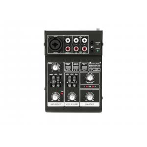 10040270-OMNITRONIC MRS-502USB Recording Mixer