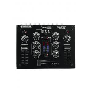10006873-OMNITRONIC PM-211P DJ Mixer with Player-1