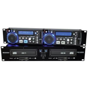 11046030-OMNITRONIC XDP-2800 Dual CD/MP3 Player