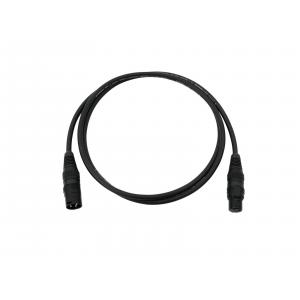 30307457-SOMMER CABLE DMX cable XLR 3pin 3m bk Hicon-1