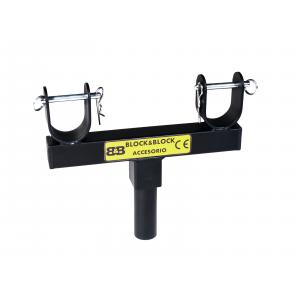 BLOCK AND BLOCK AM3802 fixed support for truss insertion 38mm ma