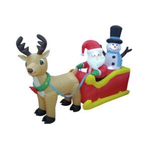 Kerstfiguren opblaasbaar