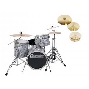 DIMAVERY Set DS-312 oyster + DB Cymbals