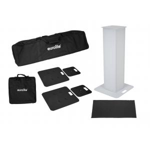 EUROLITE 2x Stage Stand 100cm incl. Cover and Bag