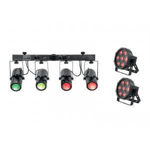EUROLITE Set 2x LED SLS-6 TCL Spot + LED QDF-Bar RGBAW Light set