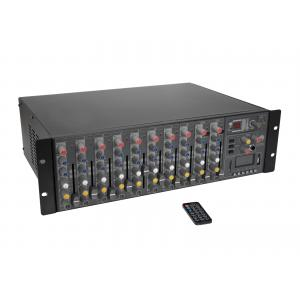 OMNITRONIC RM-1422FXA USB Rack Power Mixer
