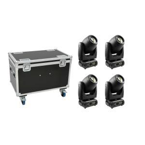 FUTURELIGHT Set 4x PLB-130 + Case